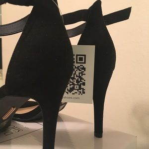 Daily Shoes San Fransisco Shoes - Black Suede high heels